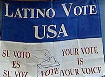 …in most of the top races across the country, among Latino voters Democrats beat Republicans by nearly a 2-1 margin.  Only in Florida, where Cuban-Americans traditionally favor Republicans,  were some GOP candidates able to surpass Democrats among Latinos…In many races in which the Republican winner was a Latino—with one  exception being the Florida U.S. Senate race, in which Cuban-American  Marco Rubio was elected with 55 percent of the Hispanic vote — the  majority of the Hispanic vote went for the Democrat….It happened in New Mexico, where Republican and immigration  hard-liner Susana Martinez was elected governor—the first Latina in  that position—without the majority of the Hispanic vote. It happened  in Nevada, where Brian Sandoval—another anti-immigrant advocate—became the first Latino governor, without the majority of the Hispanic  vote. And it happened in various congressional races in which Latino  Republican candidates sold their souls to the racist and xenophobic  anti-immigrant movement just to get elected.  and so, Miguel Perez goes on to say:  They are Hispanic, and they are elected leaders. But seeing as the  new crop of Latino Republicans mostly were elected by non-Latinos —  because majorities of Hispanics often voted against them — can we call  them Latino leaders? If they have vowed to follow conservative Republican/tea party  agendas that are clearly anti-Hispanic, can we really call them Latino  leaders just because they have Hispanic surnames?