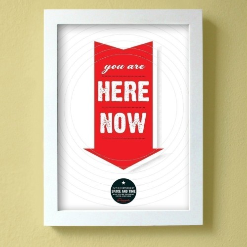 Type On Tuesday :: You Are Here Now :: by farouche. Sunny California.