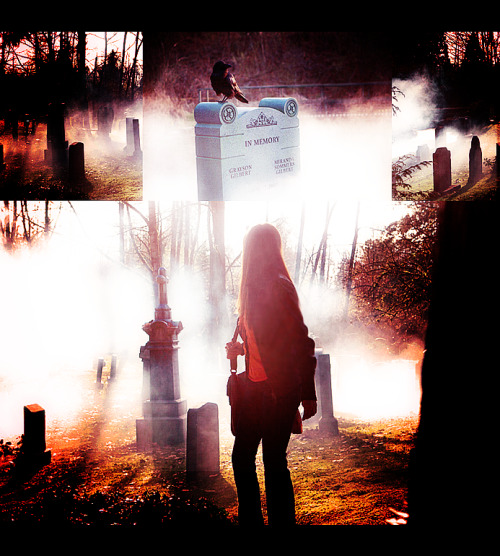 rageandpride:  Damon and Elena - The Vampire Diaries (Episode 1.01)