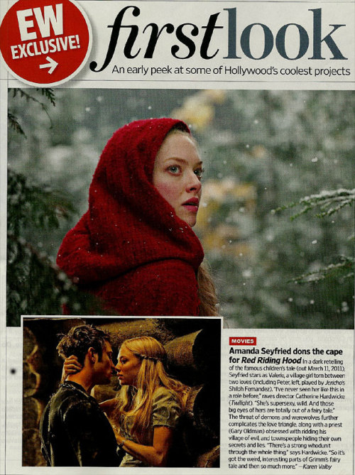 First Look: Amanda Seyfried in 'Red Riding Hood' | /Film