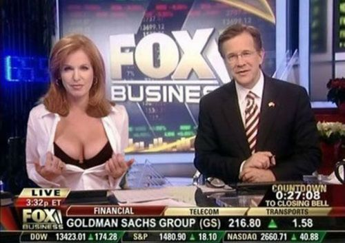 Damn. Should I be watching Fox Business more often?