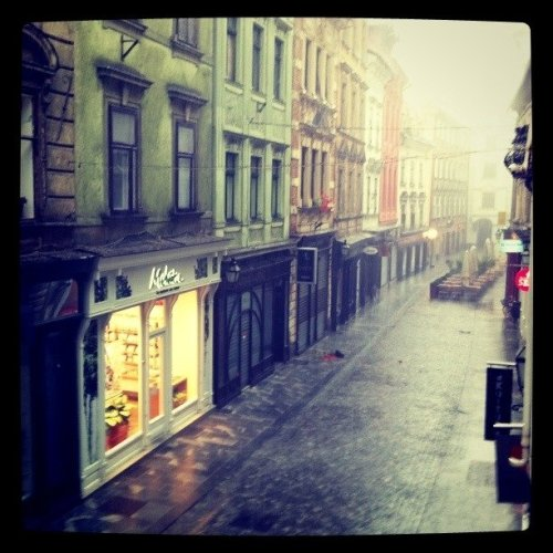 One rainy afternoon (Taken with instagram at Ljubljana)