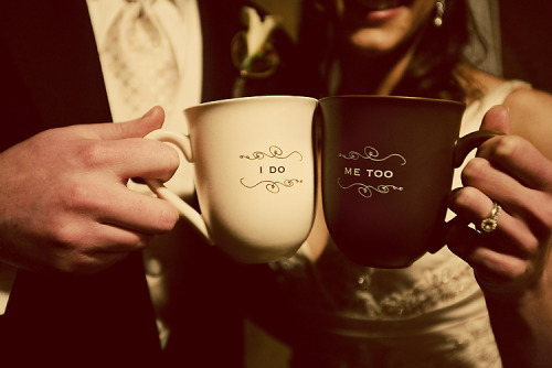 Coffee cup lovers Photo by Birdsong Photography