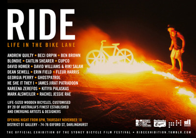 Holy crap! Ride opens this Thursday night! See you there!