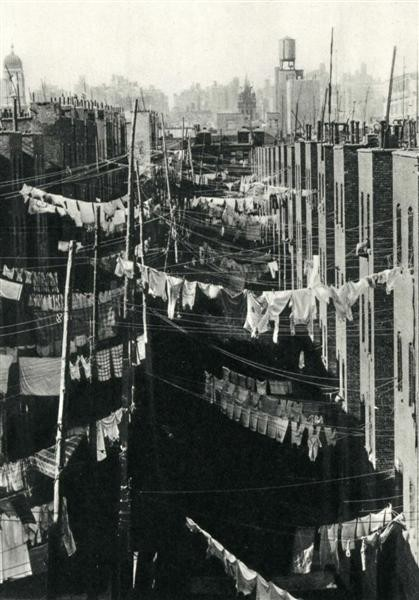 billyjane:  Laundry, New York City,c.1934 by Marjorie Content