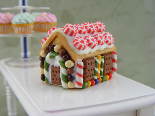 Miniature GingerBread House (by Shay Aaron)