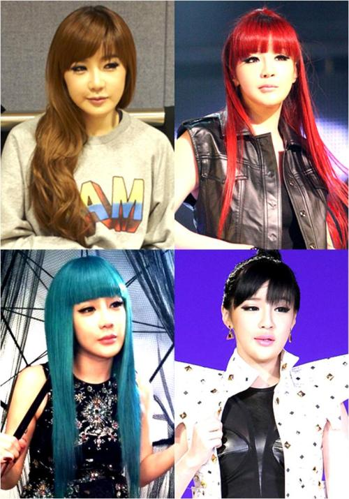 maknae-nichie:  Bommie looks good in any hair color <3