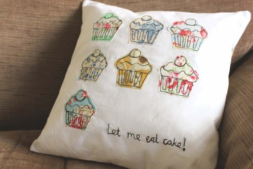 Let me eat cake!! Awesome  cushion on etsy