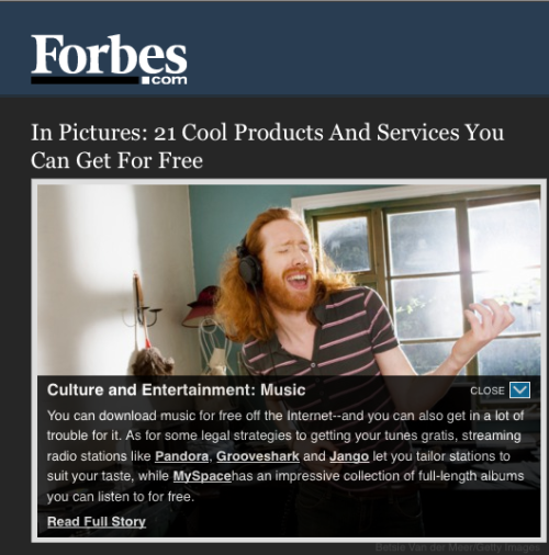 Hey, thanks, Forbes!