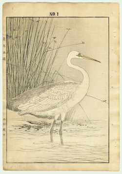 yama-bato:  Original Imao Keinen (1845 - 1924) Japanese Woodblock Print Single oban original - Autumn Group, 1891 Series; Four Seasons