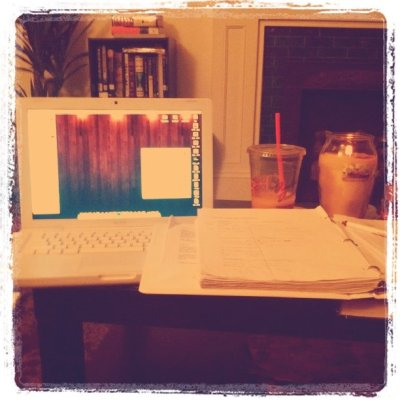Don't want to study orgo at all right now.  (Taken with instagram at Home)