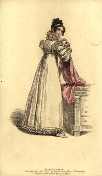 stellar-raven:  Morning Dress, 1815 [University Libraries, University of Washington]