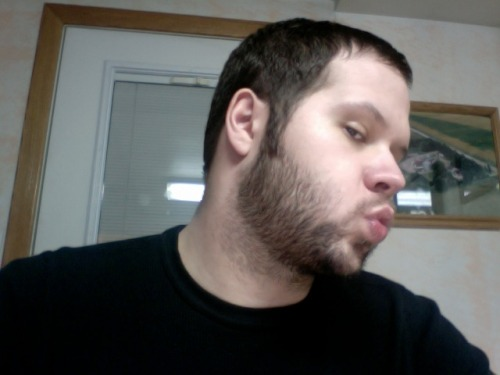 No Shave November Day 15. Need to clean up the neckline again.