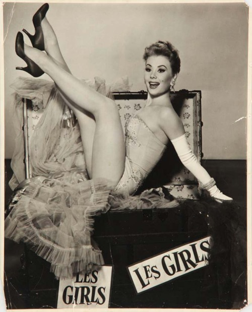 "Mitzi Gaynor in ""Les Girls"" 1957"