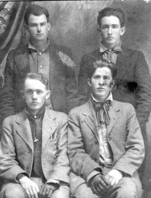 one-glove mystery men c. 1904-1918