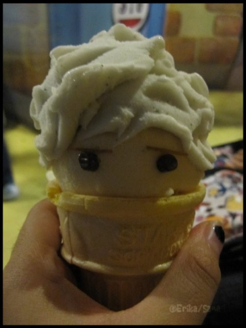 freakbeetchylogy:  GIN-SAN Ice Cream <3 Limited Version.:)    Almost too cute to eat!