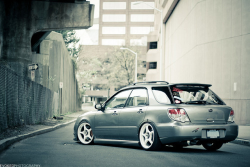 carpr0n:  Low and sassy Starring: Subaru Impreza (by Quan Duong)