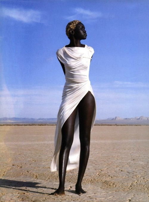 naturalbelle:  fuckyeahblackbeauties:  Goddess Stance  oh so regal!!  Regal is the word.