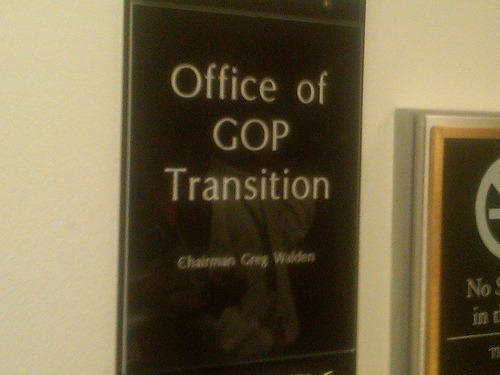 Photo: GOP Transition Underway