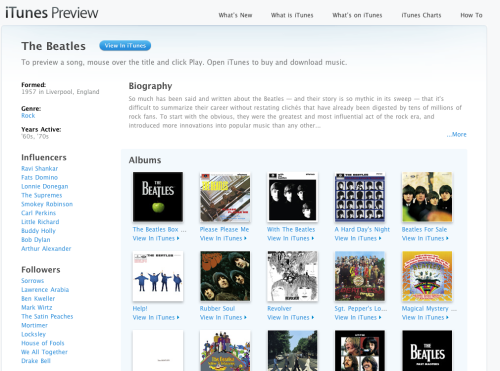 Apple's Annoucement - The Beatles Have Been Added To iTunes.
