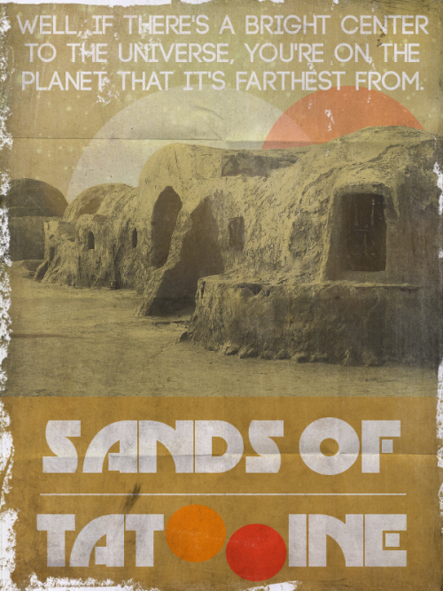 Sands of Tatooine // by borsukart (via pacalin)
