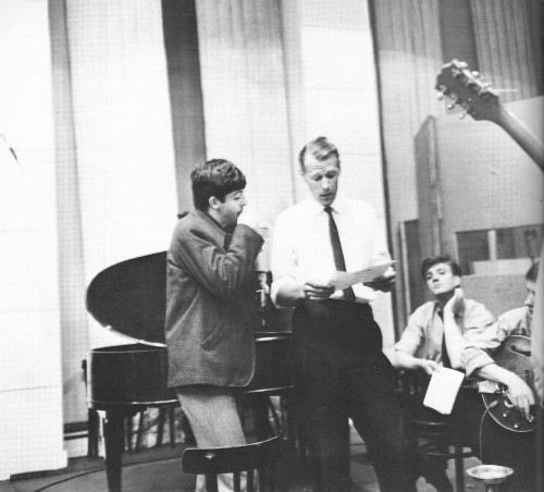 Paul McCartney & George Martin