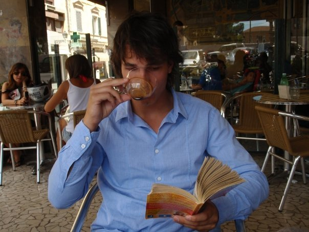 hotguysreadingbooks:  This hot Scandinavian is here to usher HGRB into 2012! As part of the new year, I'm looking for a fourth volunteer writer for HGRB! Are you funny, pithy, and a connoisseur of attractive men and fine literature? Can you write three posts on a weekly basis? Click here for more info and apply! (thanks, Colleen!) —Posted by Alli  Give.