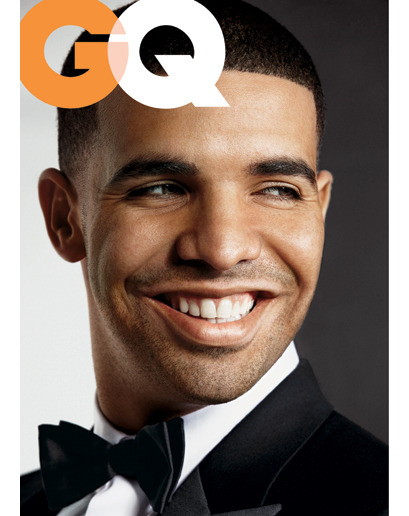 "he's one of GQ's ""Men of the Year."" update/bonus: it seems Drake announces the title of his next album in the piece. it's called ""Take Care"""