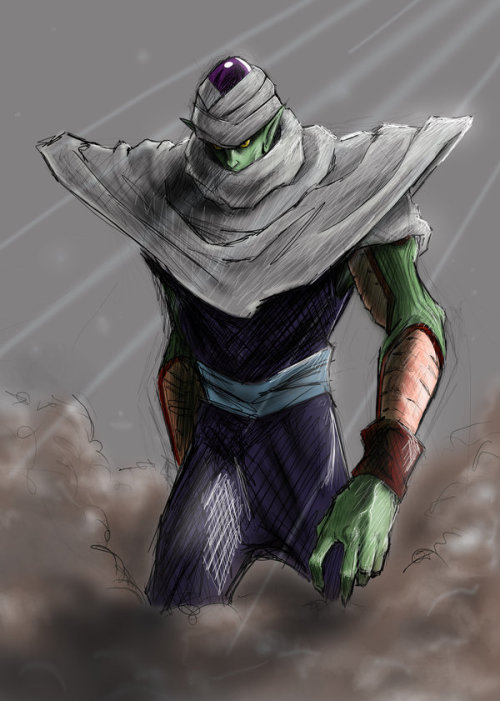 animushonentokusatsu:    piccolo by ~soulbleeding   Piccolo from Dragon Ball
