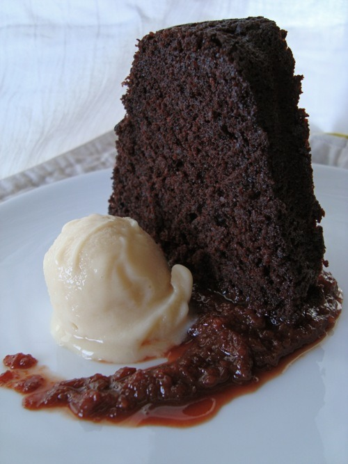(Let's have sexual relations, Vegan Battleship Chocolate Bundt Cake with Sour Cherry Compote by Terry Hope Romero from last week's  Top Chef: Just Dessertschallenge.) The tenth AND FINAL (!!!) episode of Top Chef: Just Desserts airs on Bravo tonight (10 Eastern/Pacific), which means that we're ready to unveil our 10th AND FINAL guest chef who will veganize the episode's winning dessert! See the first nine here: Chocolate mousse! Chocolate cake with sour cherry compote! Margarita bombes! Toffee brownies! Chocolate cake! Fried pie and ice cream! White chocolate mousse! Cheesecakes! Panna cotta! Rice Krispy bars coated with chocolate and hazelnut butter! Mini cinnamon almond cakes! DO IT. Our next chef makes my absolute favorite candy in all the world and I adore her so here goes: Allison Rivers Samson is a genius, and that's about it. Her handmade caramels are IT. They are IT. There is nothing better in this whole entire world. They are the caramel which all caramels, vegan or not, aspire to be. Other caramels spend their entire life in TRAINING to MAYBE one day be a Allison's Gourmet caramel but they WILL NEVER BE THE REAL DEAL! I might be/am a little drunk but really, GODDAMN. Give them to everyone (read: me) this holiday season and I will ROCK YOUR WORLD. You know how people are haunted by the things they've done for a Klondike Bar? That's me with these caramels. I can't. So good. Also, everything she sells via Allison's Gourmet is pretty much the best in its category. I'm talking fudge, toffee, cocoa, brownies, cookies, brittle, I can't keep talking about this, I'm driving myself crazy with desire! Oh, and in addition to running this amazing vegan bakery and candy shop, she' the lady behind the excellent Veganize It! column in VegNews, and perhaps even more importantly, the veganizer of my favorite mac and cheese recipe ever. Make it for your friends and family this holiday season and be prepared to have gifts showered upon your face. As you can see, Allison is more than qualified to veganize the crap out of whatever wackiness Top Chef throws our way. Until then, please enjoy the final three psychos talking various degrees of crazy. Enjoy!