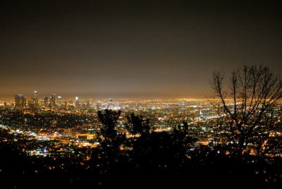 The Griffith Observatory. October 31st, 2010.