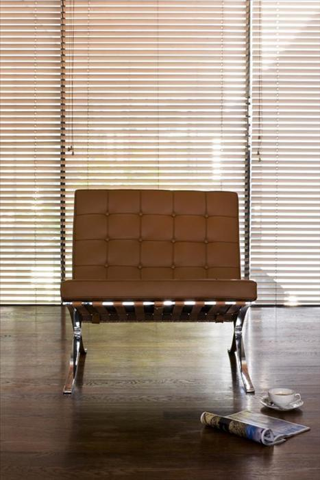 A Modern Throne: The Barcelona Chair by Ludwig Mies van der Rohe and Lilly Reich [photo source]