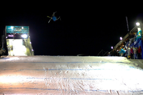 Weee! Elias Ambühl Wins Budapest Big Air - News - Skiing's Online Community - Newschoolers.com