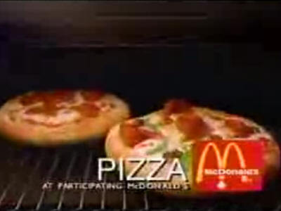 McDonald's Pizza Remembered by Alana G.