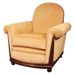 Maison Gérard - Jules Leleu - Early Art Deco Armchair by Jules Leleu - 1stdibs