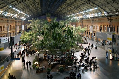 Breathtaking photo from allthingseurope:  Madrid Atocha Station, Spain via