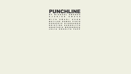 Punchline watch here:  https://vimeo.com/22596592