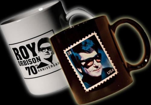 Big O Weekly Sale! Two commemorative Roy Orbison mugs for only $10 (includes free shipping)! This week only at the Official Roy Orbison Store! http://store.royorbison.com/ Be sure to check in each Wednesday as we will have a new special each week!