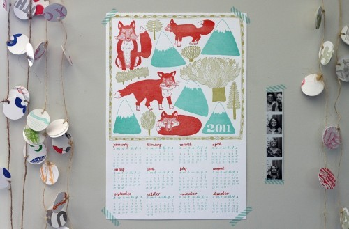 The Fresh Exchange: 2011 Calendars