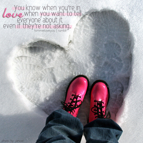 ♥ lovequotesrus:  Photo Courtesy: kimmielovesyou