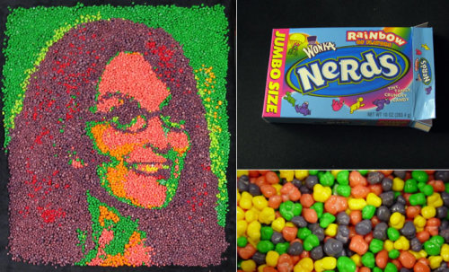 Nerds 30 Rock Portraits by Andrew Salomone