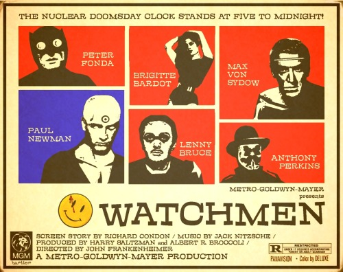 Watchmen: alternate universe film poster