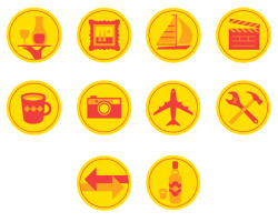 Monocle Poland Icons (by Jason Hill)
