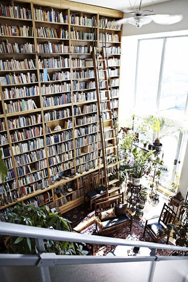 I want to live (and write) here.