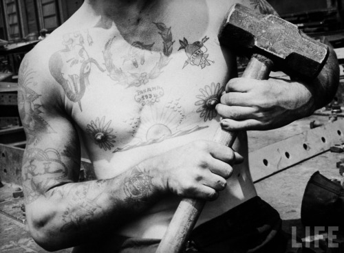 1937 tattooed ship-builder