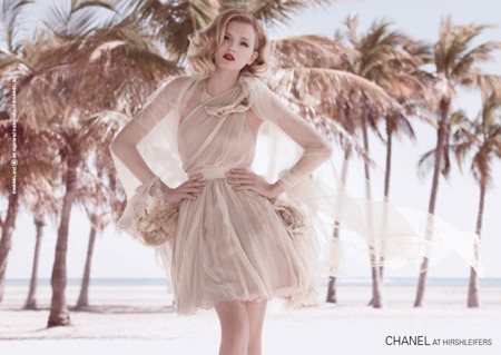 Lily Donaldson in the Chanel Summer 2010 Campaign