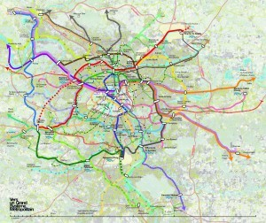 Les transports en Ile-de-France à l'horizon 2020. Grand Paris: le come-back des architectes