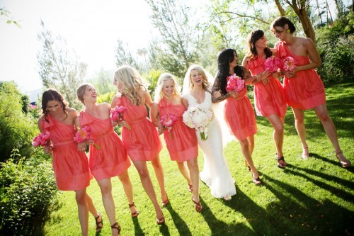 sweepmeup:  Pretty bridesmaid dresses!