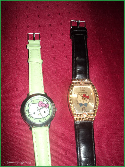 HELLO KITTY WATCHES / sowrongitsmonique
