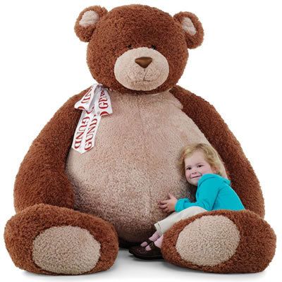 huge vday teddy for Lala